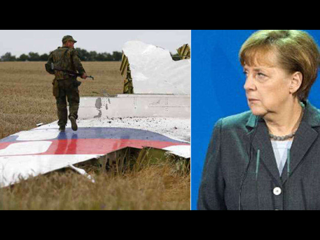Aereo abbattuto: Merkel, serve tregua per inchiesta indipendente