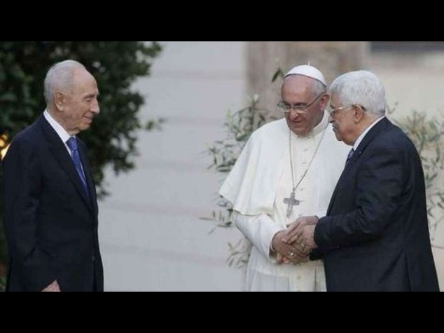 Papa telefona a Peres e Abu Mazen, gravissime preoccupazioni