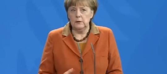 Merkel:relazioni con Usa importanti; Ue presenterà visione condivisa su Europa