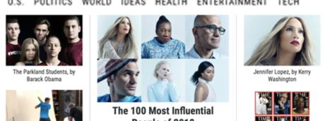 Le 100 persone più influenti secondo Time