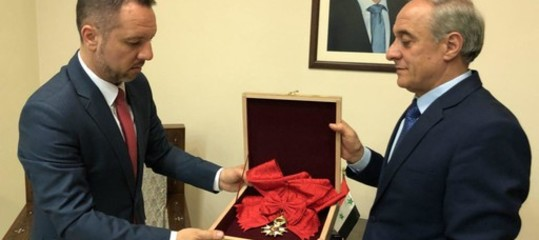 "Siria: Assad restituisceLegion d'Onore a Parigi, ""non mi onora"""