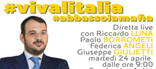 Il giornalismo contro la mafia. Appuntamento con #vivalitalia #abbassolamafia