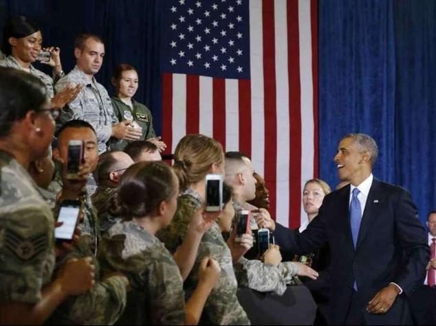 """Usa e alleati insieme contro Isis. Obama, """"Siamo piu' forti se uniti"""""""