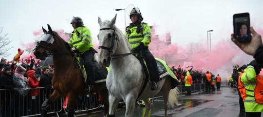 Due tifosi della Roma sono stati fermati a Liverpool per tentato omicidio