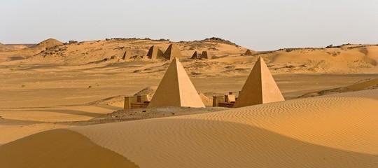 In Sudan è stata scoperta una nuova piramide. E può essere miracolosa per il turismo