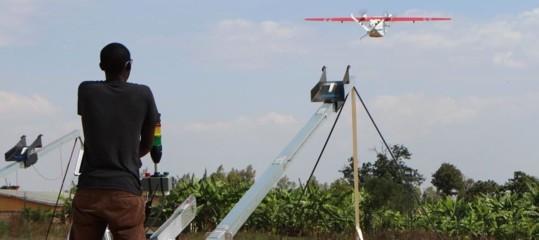 In Ghana alcuni farmaci vengono recapitati nei villaggi con i droni