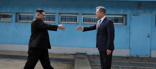 Come è andato l'incontro traKime Moonal confine tra le due Coree