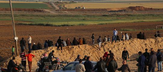 M.O.: si aggravail bilancio, 3 palestinesi mortinegliscontriaGaza