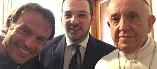 Il Papa ha rivolto un saluto molto particolare al giornalista PaoloBorrometi