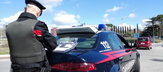 carabiniere travolto ucciso posto blocco