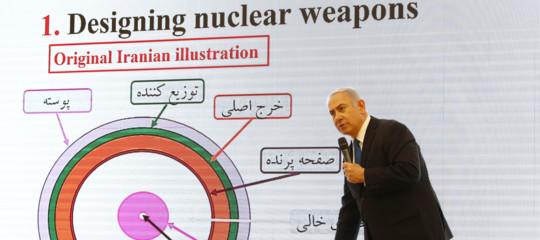 SecondoNetanyahu l'Iran stava lavorando a 5 bombe atomiche