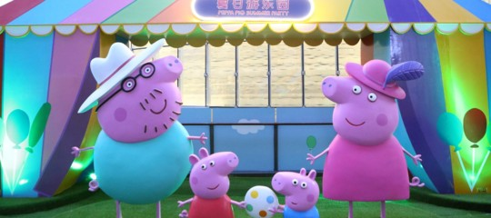 Secondo il governo cinese,PeppaPigè un'icona sovversiva