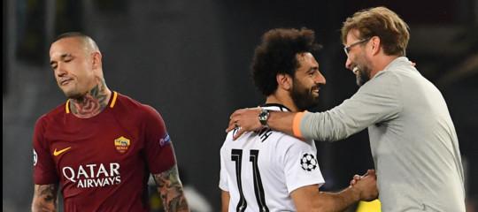 Roma-Liverpool 4-2 ma non basta: la finale di Championsva ai Reds