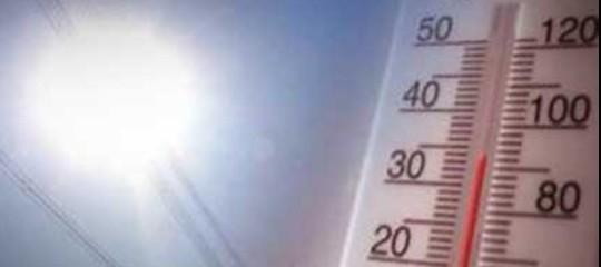 Clima: caldo record ad aprile, temperature più alte degli ultimi 40 anni