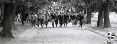 Roma, disordini a Valle Giulia, primo marzo 1968.