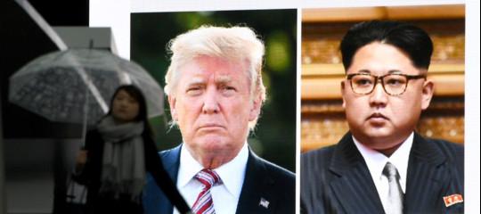 Coree: a metà giugnoa Singapore l'incontro Kim-Trump,scrivono i media