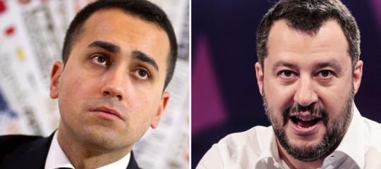 Salvini vede Di Maio: senza governo politico al voto l'8 luglio