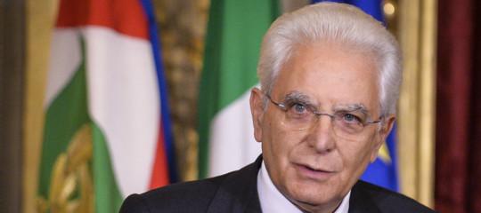 Mattarella, ora un governo neutrale, elezioni subito un errore