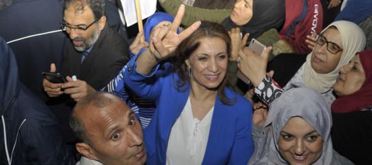 Souad Abderrahim sindaco donna tunisi