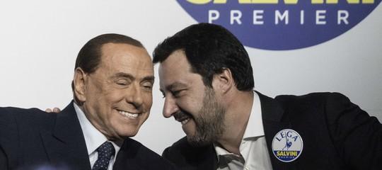 """Pressing della Lega su Berlusconi: """"Dica una parola chiara"""""""