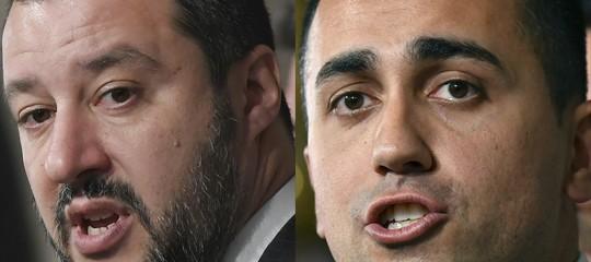premier governo lega m5s di maio salvini