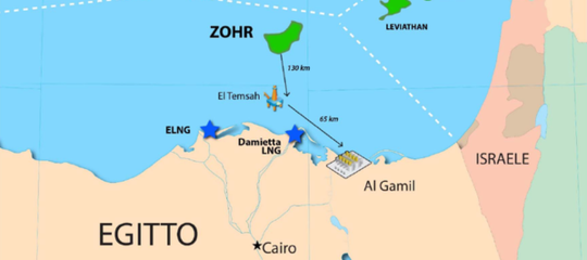 Eni Zohrgas Egitto