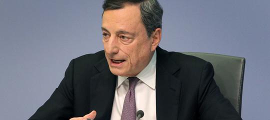 Draghi: riforme strutturali restano priorità per l'Italia, bisogna avere fiducia nell'euro