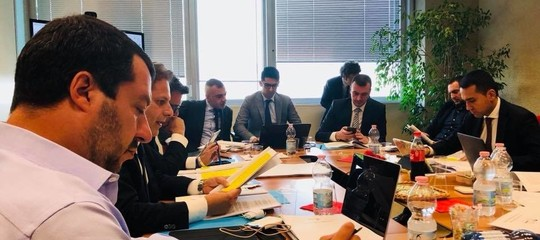 Come è andato il primo tavolo sul programma tra Di Maio e Salvini