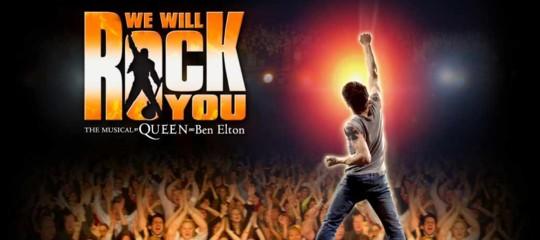Torna in Italia il musical 'We willrock you'