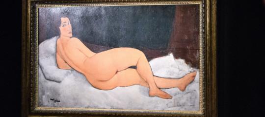 Arte: nudo di Modigliani battuto per 157 milioni di dollari, il quarto quadro più caro della storia