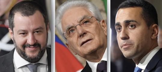 aggiornamento governo salvini di maio berlusconi mattarella