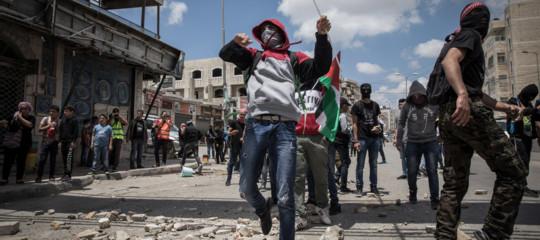 israele gaza funerali ambasciata gerusalemme