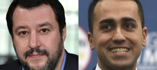 """Salvini incontra di nuovo Di Maio:""""Lui è ottimista? Io sono anche realista"""""""