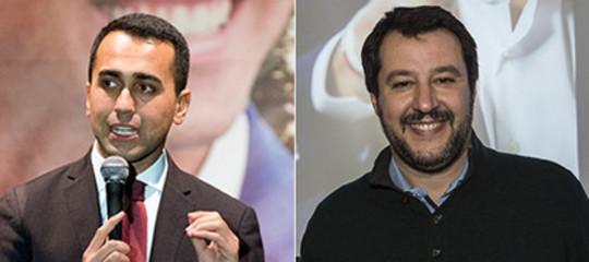 M5s-Lega: chiuso il contratto, Di Maio e Salvini scioglieranno gli ultimi nodi