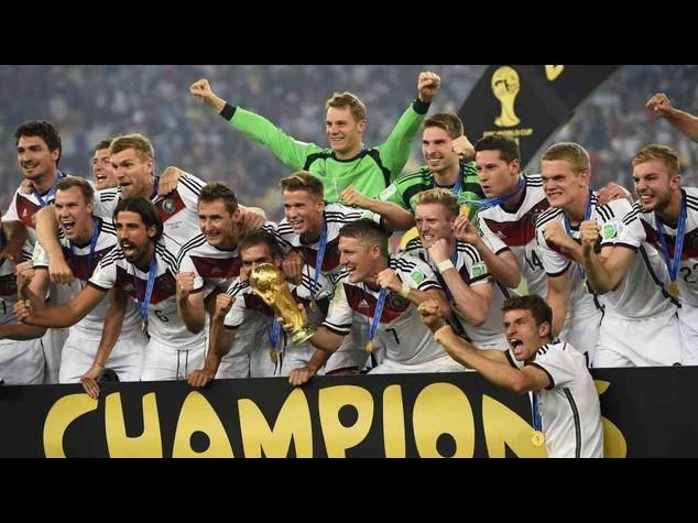 Calcio: ranking Fifa, Germania al comando, Italia e' 14esima