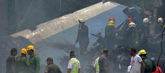 Cuba: tre sopravvissuti nel disastro aereo, sono in gravi condizioni