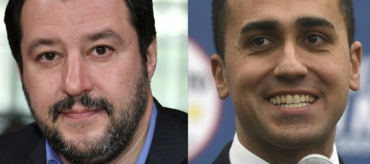 governocontratto m5s lega di maio salvini premier