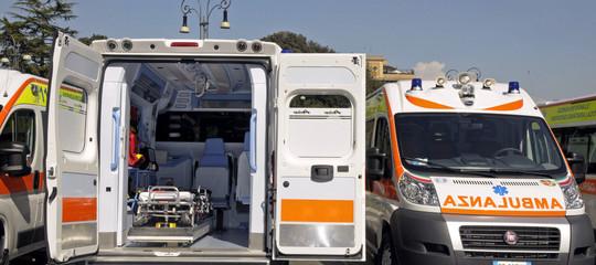 Camion con tifosiJuveurta icavi del tram a Torino: 6 feriti, 2 gravi