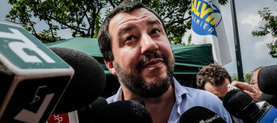 Governo: Salvini, abbiamo chiuso su premier e ministri, nomi solo al Colle