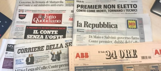 """""""Il premier tecnico di un governo politico"""". Cosa dicono i giornali"""