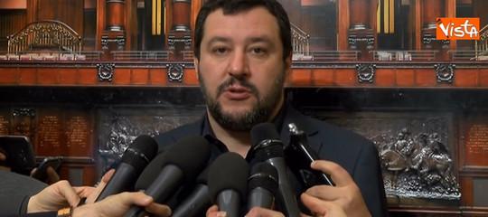 """Salvini, """"No a un ministro dell'Economia che piace alla Germania"""""""