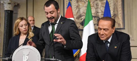 La domanda è: Salvini andrà alle elezioni con Berlusconi o sialleeràcon Di Maio?