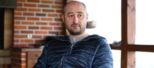 ArkadyBabchenko, il giornalistadato per morto in Ucraina, è vivo