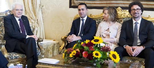 Governo: Di Maio al Quirinale per colloquio con Mattarella