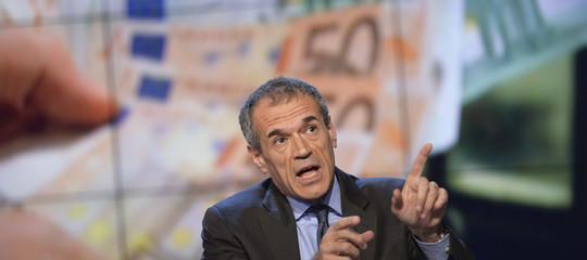 Cottarellie il suo (ipotetico) ministro dell'Economia sonoeuroscettici?