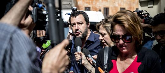 """Salvini apre a Savona dirottato su un altro ministero, """"valutiamo"""""""