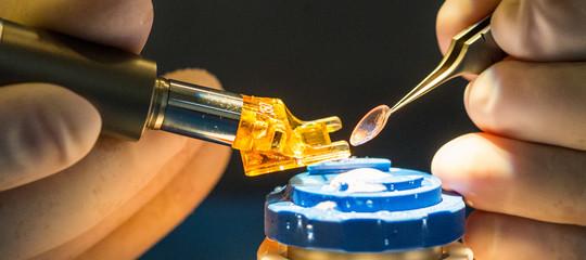 È stata creata una cornea umana con un inchiostro stampato in 3D