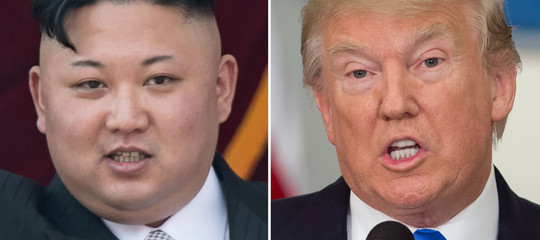 """Coree: Trump, """"molto bene gliincontri con inviati Nord"""""""