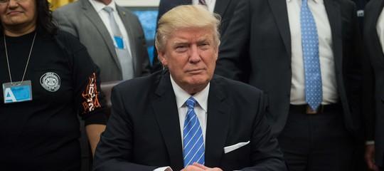 Wall Streetchiude in calo per i dazi di Trump, Dow Jones -1%