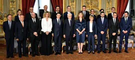 Cosa facevano i nuoviministri prima di diventare ministri